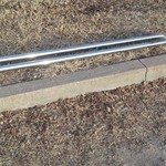 Chrome Bed Rail Bars