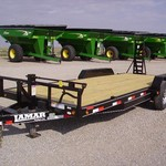 2013 Lamar 20' Car Trailer.  Skid Steer Trailer 15884