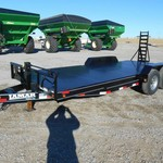 2013 Lamar 20' Carhauler Steel Floor Car Trailer 16775
