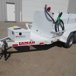Lamar 500 Gallon Fuel Trailer 17624