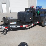 2014 Lamar 500 Gallon Fuel Trailer + 100 Gallon DEF  20887