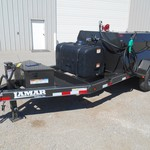 2014 Lamar 990 Gallon Fuel Trailer+100 Gallon DEF  20894