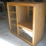FREE - Oak TV Stand/Cabinet