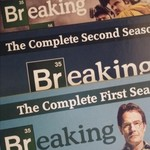Breaking Bad Seasons 1, 2, and 3 on DVD
