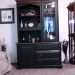 China Hutch w/ table and 6 chairs