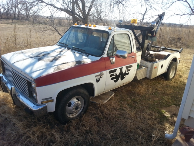 Chevy Tow Truck price reduced