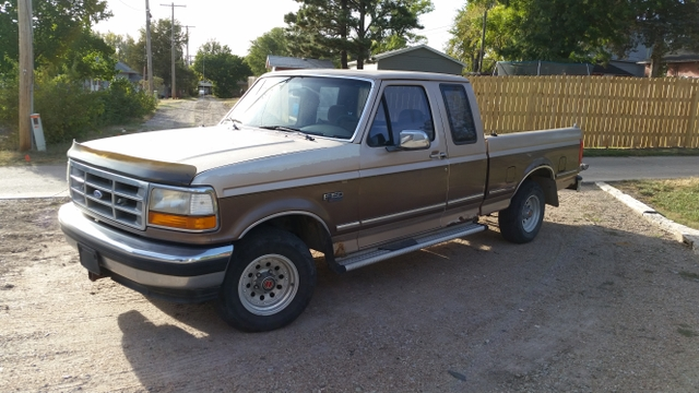 1993 Ford F150 Ext. Cab Pickup