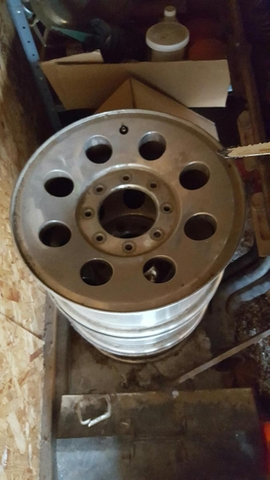 F-250 Ford 17 inch rims PRICE REDUCED