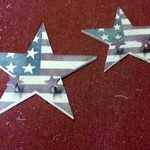 REDUCED Home Interior Brand Americana Star Hangers