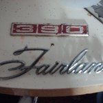 Fairlane emblems froma 1969 Ford Fairlane