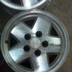 S10 4x4 15inch aluminum rims in great shape 5 lug wheels
