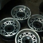 nice 15inch  5 on 5 trailer rims to dressup your trailer