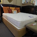 CONTEMPORARY ALLIGATOR PATTERN KING & QUEEN BEDS