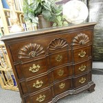 4 drawer CHIPPEDALE CHEST OF DRAWERS