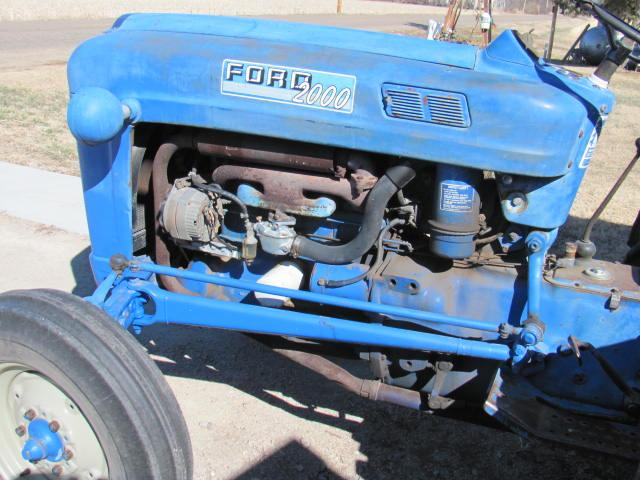 1963 Ford 2000 Tractor : Ford tractor great little nex tech