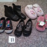 girls shoes size 11, 11 1/2, & 12