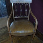 Leather Victorian Chair