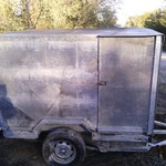 enclosed trailer price reduced