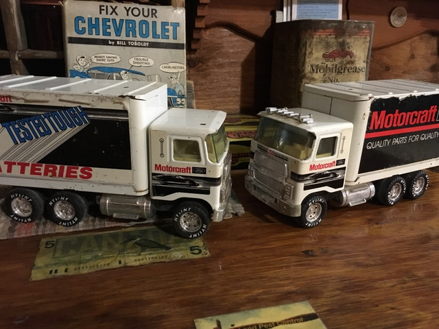 1988 Ford - Motorcraft. Toy Trucks