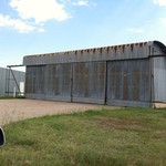 Airplane Hangar at Hays Airport
