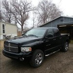 2002 Dodge Ram slt plus 4dr 4x4