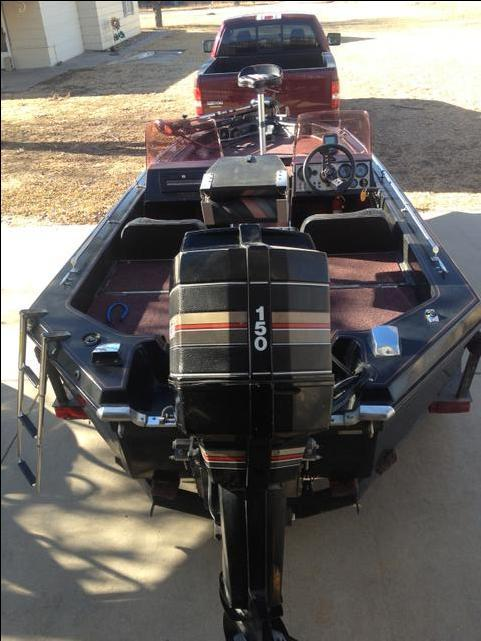 1990 Champion 17ft Fish  U0026 Ski Bass Boat