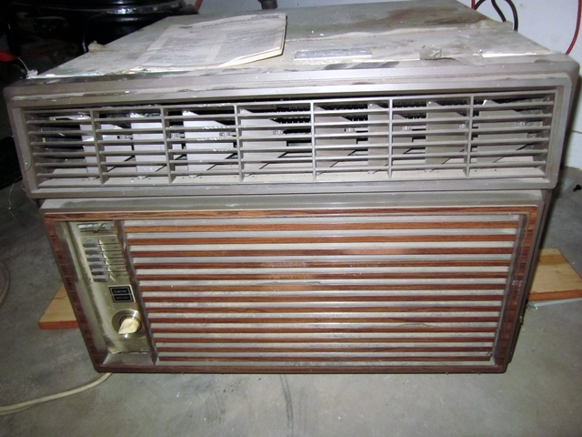 Carrier window air conditioner, heater