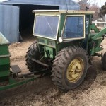 4020 JD power shift tractor