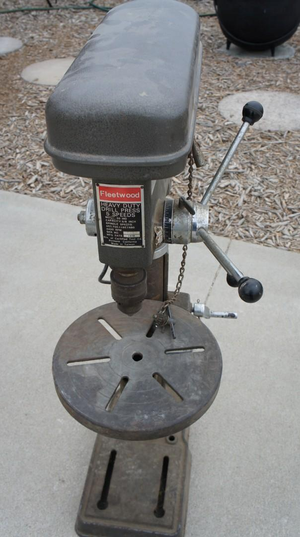 Fleetwood Drill Press PDF Woodworking