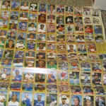 Baseball card sheets