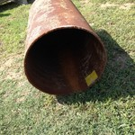 "Pipe 20"" x 4' X 1/4 wall"