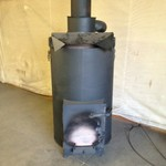 farm wood burning heater