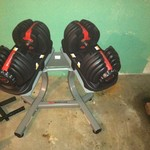 Bowflex Select-Tech dumbbells & acc.