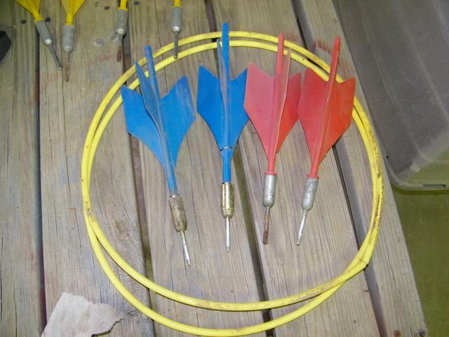 Old Lawn Darts With Metal Points Nex Tech Classifieds