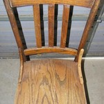 1 Nice Old Wooden Chair