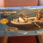 Three-person inflatable boat kit new in box
