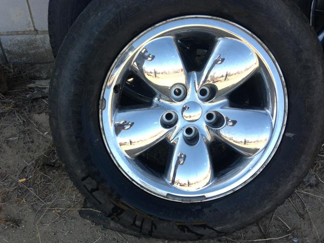 2004 dodge ram 1500 RIMS AND WHEELS