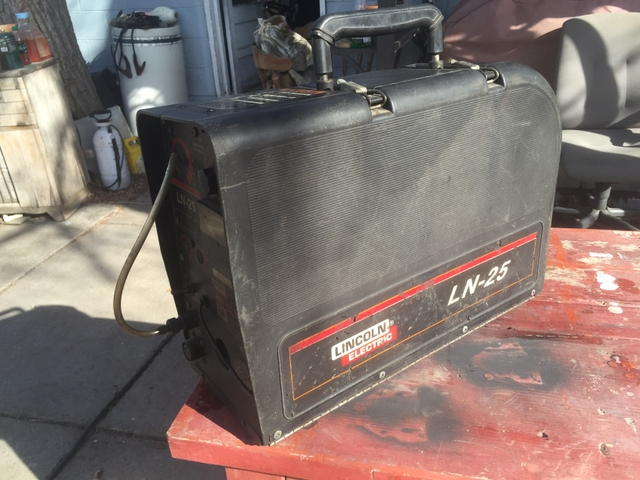Lincoln ln 25 wire feed with gas nex tech classifieds for Lincoln wire feed motor