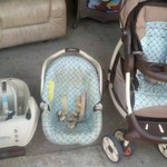 Infant Car seat and matching stroller