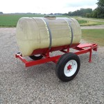 Trailer and 300 gallon Water Tank
