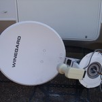Winegard RV Satelite Dish