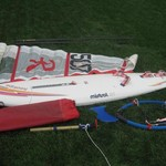 Mistral Hookipa SST Sailboard. Complete with mast and sail.