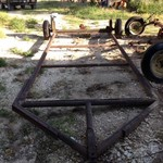 Heavy duty trailer frame