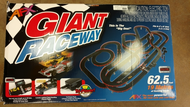 AFX Slot Car Track