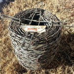 Spool of 2 point Barbed wire - Red Brand