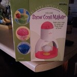 Electric Snow Cone Maker & Cups