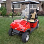 2010 EVE STREET LEGAL LOW SPEED VEHICLE/GOLF CART