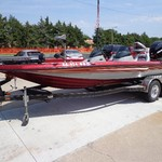 2007 CHAMPION 198 BASS BOAT