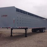 2015 NEW WICKED 53' ground load cattle trailer