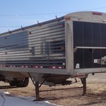 2011 Timpte 40' GRAIN TRLR- Air ride-AG Hoppers